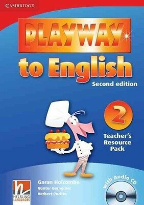 Playway to English Level 2 Teacher's Resource Pack with Audio CD by Herbert Puch
