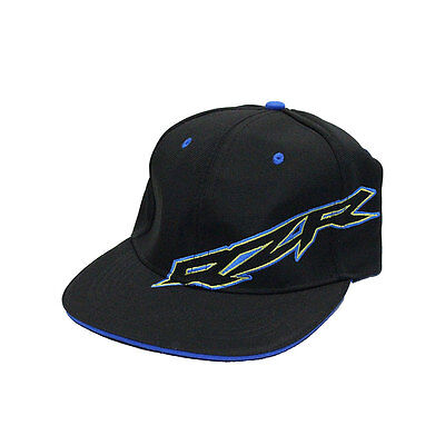 Polaris RZR Black Yellow Adjustable Snap Back Baseball Cap Hat