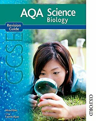 New AQA Science GCSE Biology Revision Guide, English, Nigel Paperback Book The