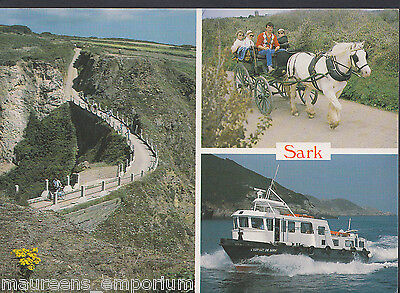 Channel Islands Postcard - Views of Sark   LC5841