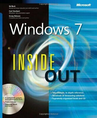 Windows® 7 Inside Out by Craig Stinson Mixed media product Book The Cheap Fast