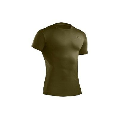 Under Armour Tactical Compression Heatgear T Shirt 1216007 Marine Olive Drab