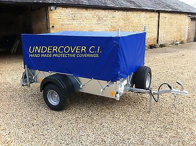 Ifor Williams P8E High Sided Trailer Cover Hand Made Top Quality