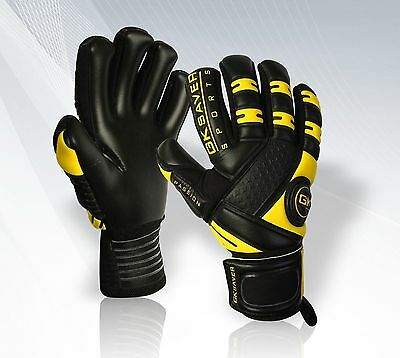 GK Saver Negative Cut Football Goalkeeper Goalkeeping Professional Gloves Size