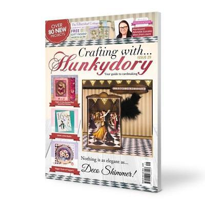 Crafting with Hunkydory Magazine Issue 29 plus FREE THATCHED COTTAGE KIT