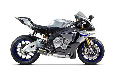 2015-2016 Yamaha R1 Two Brothers S1R Carbon Fiber Slip On Exhaust System