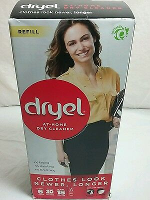 Dryel At Home Dry Cleaner Refill Kit Cleans 6 loads