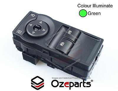 Holden VE Commodore UTE Power Window 2 buttons Master Switch Green illumination