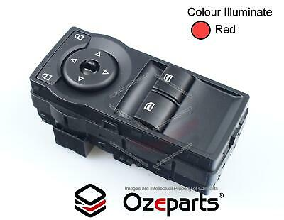 Holden VE Commodore UTE Power Window 2 buttons Master Switch Red illumination