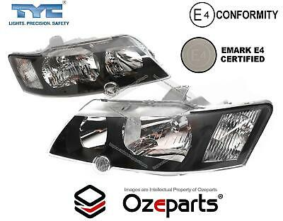 NEW Holden VY Commodore SS SV8 Pair LH+RH Headlights Head Lights Lamps