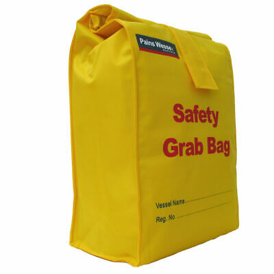 NEW PAINES WESSEX Grab Bag 10L Safety Yellow Buoyant Splash-proof Storage