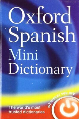 Oxford Spanish Mini Dictionary Paperback Book The Cheap Fast Free Post