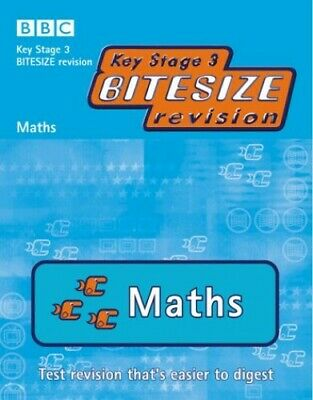 Key Stage 3 Bitesize Revision: Maths by BBC Paperback Book The Cheap Fast Free