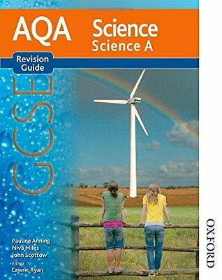 New AQA Science GCSE Science A Revision Guide, Scottow, John Paperback Book The