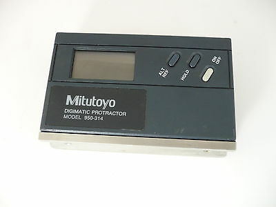 Mitutoyo Digimatic Protractor Model 950-314 used, tested, works