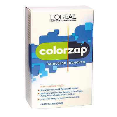 L'Oreal Color Zap Haircolor Remover Coreection Kit 1 Application