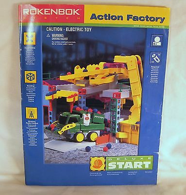 Rokenbok System Action Factory 1997 Deluxe Start Instruction Manual