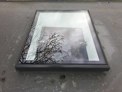 NEW Quality Aluminium flat roof light by Alulux 1000mm x 1000mm