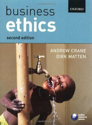 Business Ethics: Managing Corporate Citizenship and... by Matten, Dirk Paperback