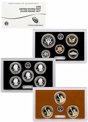 2016-S United States US Mint Silver Proof Set (Original Mint Packaging) SKU40451