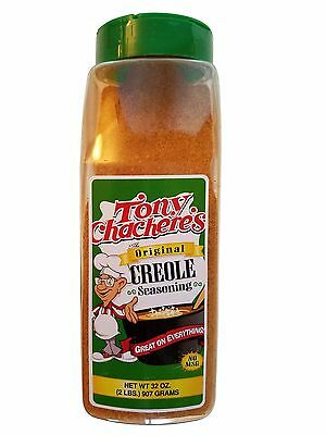 Tony Chachere's The Original Creole Seasoning Large 32 oz (2 lb)