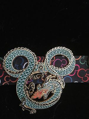 Disney Imagineering Large Green Dragon Pin, Limited Edition of 300