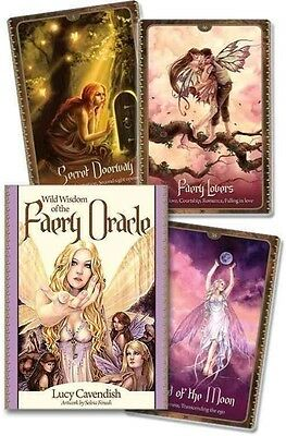 Wild Wisdom of the Faery Oracle by Lucy Cavendish (English)