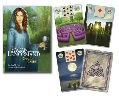 The Pagan Lenormand Oracle by Gina M. Pace (English)