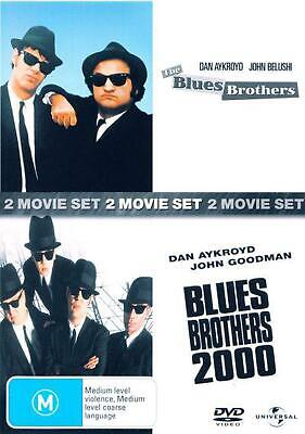 The Blues Brothers / Blues Brothers 2000 - DVD Region 4 Free Shipping!