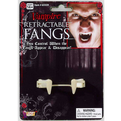 NEW RETRACTABLE VAMPIRE FANGS Party Supplies