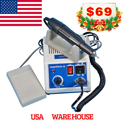 35K RPM Dental Marathon Electric Micro motor Polishing Control +Tooth Polish Cup