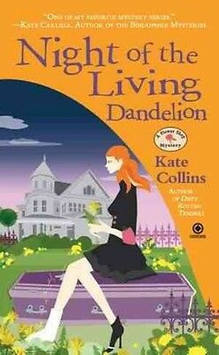 Night of the Living Dandelion by Kate Collins Mass Market Paperback Book (Englis
