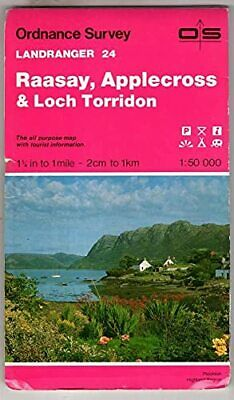 Landranger Map 24 Raasay, Applecross and... by Ordnance Survey Sheet map, folded