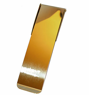 Polished Brass Inner Door Letter Plate / Tidy - Vertical Letter Plate 210 x 57mm