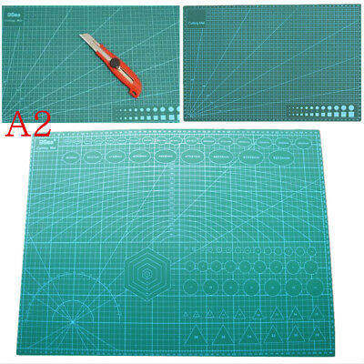 A2 Double Print Self Healing Large Thick Cutting Mat Craft Quilting Scrapbooking