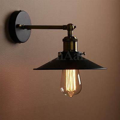 MODERN Vintage Antique Industrial Bowl Sconce Rustic Cofe Wall Light Lampshade