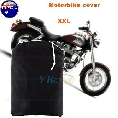 XXL Large Waterproof Motorcycle Motorbike Cruiser Bike Protector Scooter Cover T