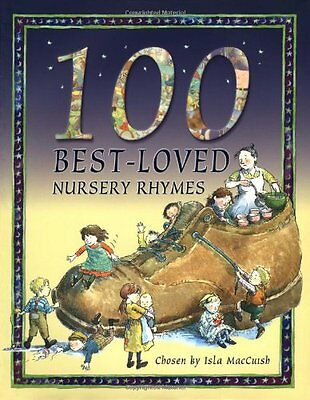 100 Best Loved Nursery Rhymes, Belinda Gallagher Hardback Book The Cheap Fast