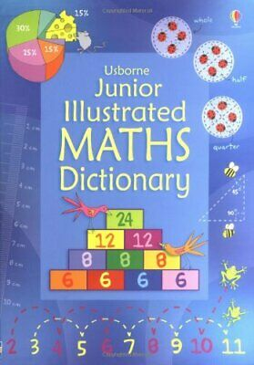 Junior Illustrated Maths Dictionary (Usborne Dic... by Kirsteen Rogers Paperback