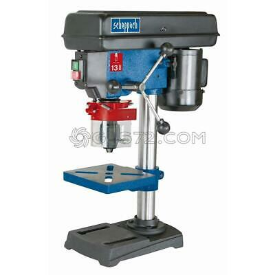 230V Bench Drill Pillar Drill Press Drilling 13 Mm Scheppach Dp13