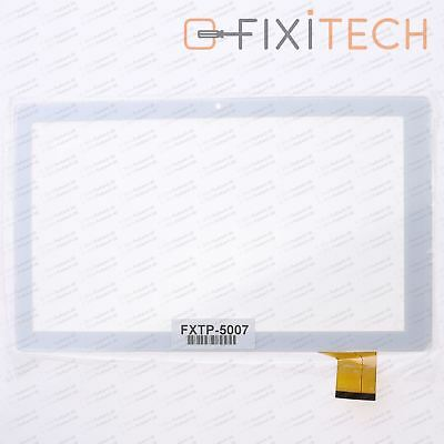 Touchscreen Digitizer Display Glas Kompatibel mit Archos 101D NEON - Weiß