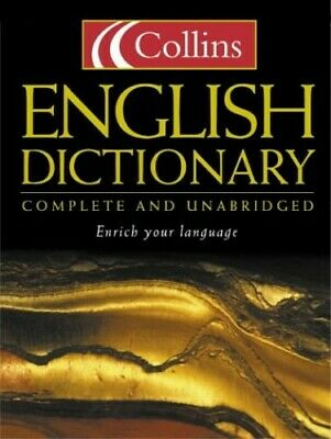 Collins English Dictionary : Complete and Unabridged by Collins Hardback Book