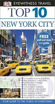 DK Eyewitness Top 10 Travel Guide: New York City by DK Book The Cheap Fast Free