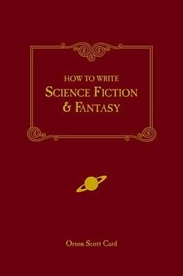 How to Write Science Fiction & Fantasy by Orson Scott Card Paperback Book (Engli