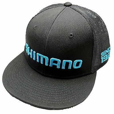 Shimano ProFlex Flatbill Q3 Fitted Caps/Hats - FlyMasters