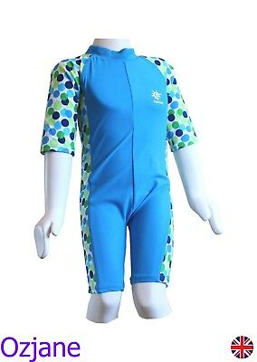 Baby Boys Toddler Ozcoz Uv Upv 50+ Sun Protection Swim Suit 18 - 24 Months Blue