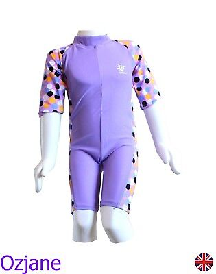 Baby Girls Toddler Ozcoz Uv Upv 50+ Sun Protection Swim Suit 18 Mnth To 3 Yr Lil