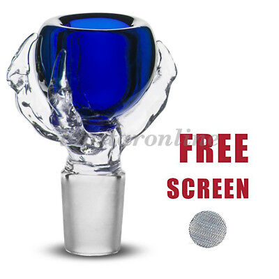 18mm Dragon Claw Glass Slide Bowl With Free Screens USA Fast Free Shipping
