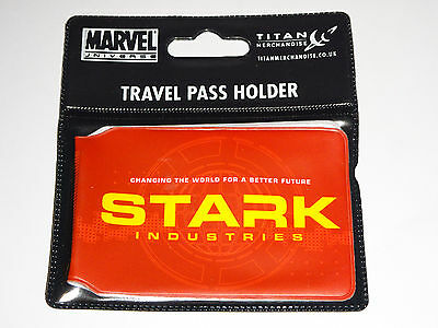 Stark Industries - Iron Man Marvel - Travel Pass Holder - Oyster Card Wallet NEW