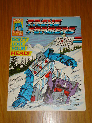 Transformers British Weekly #212 Marvel Uk Comic 1989